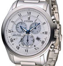 Citizen Mens Eco Drive Perpetual Chronograph BL5540-53A