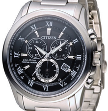 Citizen Mens Eco Drive Perpetual Chronograph BL5540-53E