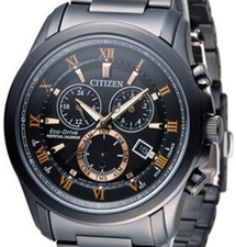 Citizen Mens Eco Drive Perpetual Chronograph BL5545-50E