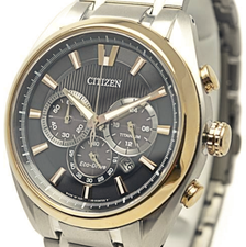 Citizen Mens Eco Drive Titanium CA4015-54E
