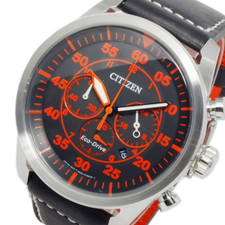 Citizen Mens Eco Drive Chronograph CA4210-08E