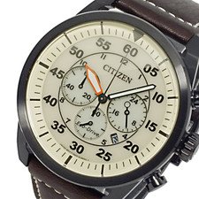 Citizen Mens Eco Drive Chronograph CA4215-04W