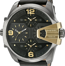 Diesel Mens Uber Chief Chronograph DZ7377