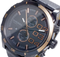 Diesel Mens Double Down Chronograph DZ4327