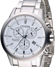 Citizen Eco Drive Chronograph Titanium AT2340-81A