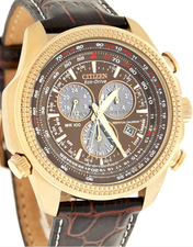 Citizen Mens Eco Drive Perpetual Chronograph BL5403-03X