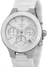 DKNY Chambers Ceramic Chronograph Ladies NY4912