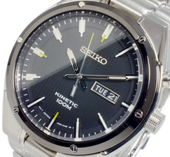 Seiko Mens Kinetic Watch SMY151P1