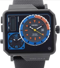 Diesel 3 Time Zones Mens DZ7243