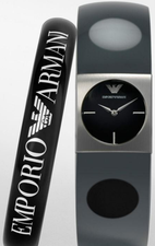Emporio Armani Ladies Watch and Bangle Set AR7379