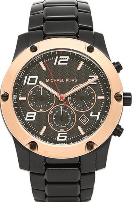 michael kors caine chronograph mens mk8513 best quality watches image 1