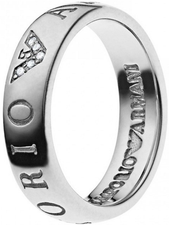 Emporio Armani Ladies Ring EG3144040, Size 5.5