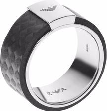 Emporio Armani Mens Ring EGS2062040, Size 10