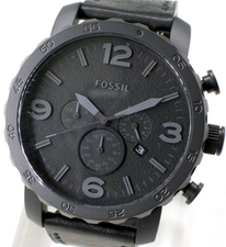 Fossil Nate Chronograph Mens JR1354