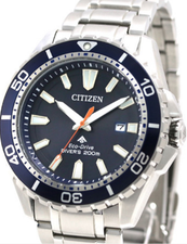 Citizen Mens Eco Drive Promaster Divers BN0191-80L