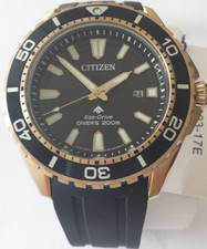 Citizen Mens Eco Drive Promaster Divers BN0193-17E