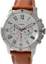 Fossil Mens Grant Chronograph FS5343
