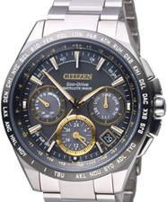 Citizen Eco Drive Attesa Satellite Wave Titanium CC9015-54F