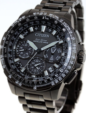 Citizen Eco Drive Attesa Satellite Wave Titanium CC9025-51E