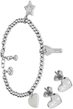 Emporio Armani Ladies Bracelet Earrings Set EGS2266040