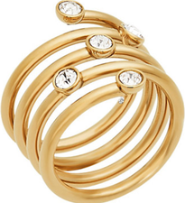 Michael Kors Ladies Ring MKJ5537710 Size 7
