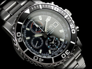 Seiko Men's Chronograph SNA225P1