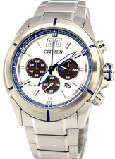 Citizen Eco Drive Chronograph Mens CA4100-57A