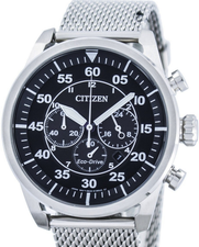 Citizen Eco Drive Chronograph Mens CA4210-59E