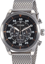 Citizen Eco Drive Chronograph Mens CA4210-59F