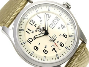 Seiko 5 Sports Men's Automatic Military SNZG07K1