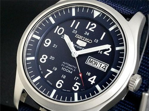 Seiko 5 Sports Men's Automatic Military SNZG11J1