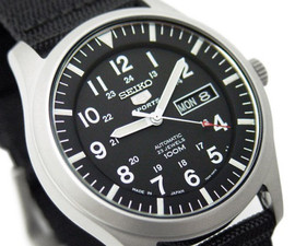 Seiko 5 Sports Men's Automatic Military SNZG15J1