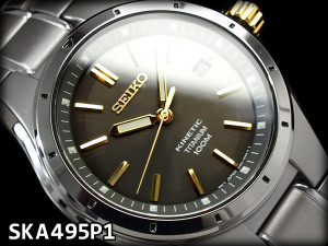 Seiko Men's Kinetic Titanium SKA495P1