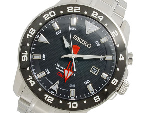 Seiko Mens Sportura Kinetic GMT  SUN015P1