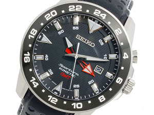 Seiko Mens Sportura Kinetic GMT SUN015P2