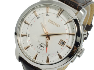 Seiko Mens Kinetic GMT SUN035P1