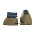 Allen 1830 Filled Front and Rear - Shooter's Rest Combo, Tan - 1830