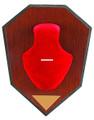Allen 561 Antler Mounting Kit, Wood - Grain Plaque, Red Skull Cover - 561