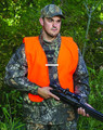 Allen 15752 Orange Vest for Hunters - Adult Blaze Orange - 15752