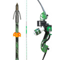 AMS B705-MOC-RH Water Moc Recurve - Bow Kit - Right Hand, Includes - B705-MOC-RH