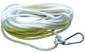"Attwood 11707-7 Anchor Line Wht - Twis Nylon w/Hook 3/8""x50' - 11707-7"