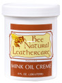 Bee Natural 50175 8oz Mink Oil Cream - 50175