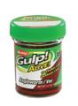 """Berkley GAJAW-RDW Gulp Alive Angle - Worm, 1"""", 2.1 oz Jar, Red Wiggler - GAJAW-RDW"""