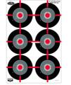 """Birchwood Casey 35705 Dirty Bird - 12"""" x 18"""" Multiple Bull's- Eye - 35705"""