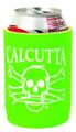 Calcutta CCCLG Can Cooler Lime - Green w/Wht Logo - CCCLG