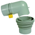 Camco 39144 4-In-1 Sewer Elbow - Easy-Slip - 39144