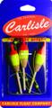 Carlisle CA-SL4-3PK Micro Slip - Balsa Float Sz 4 3PK - CA-SL4-3PK