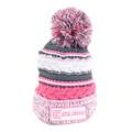 Clam 10600 Pink Knit Pom Stocking - Hat - 10600