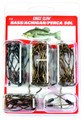 Eagle Claw 618H Bass Hook - Assortment, Size 1 - 3/0, Plain - 618H