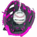 """Franklin 22702 9.5"""" Glove/Ball - Graphite/Pink - 22702"""